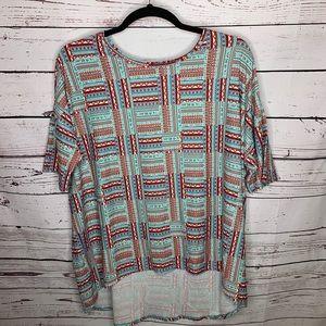 Lularoe 3xl Irma tunic shirt dress